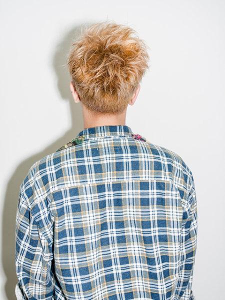 Men's hair style 004